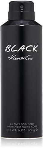 Kenneth Cole Black Body Spray, 6.0 Oz