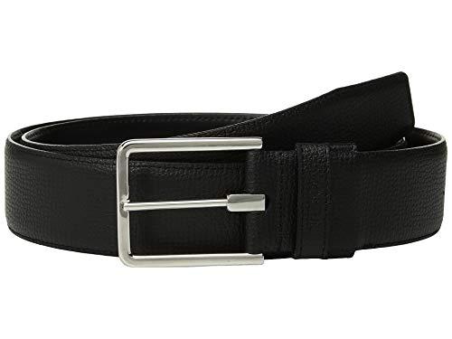 TUMI - Textured Leather Reversible Belt for Men - Size 44 - Black