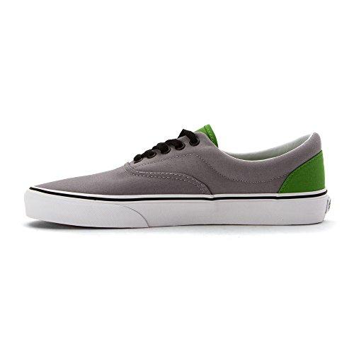 Vans Mens Era (Pop) Skateboarding Shoes ONLINE LIME/ FROST GRAY HdtwzIYC