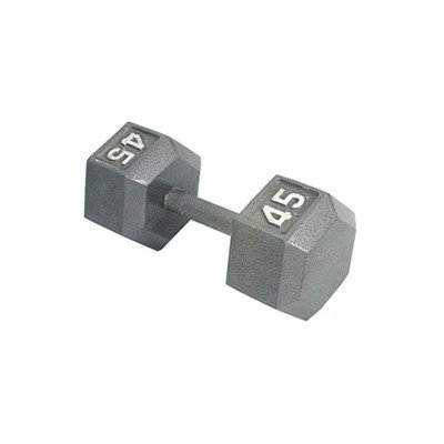 Apollo Athletics HD-60 Hammer-Tone Hex-Dumbbell Weight: 60, 60 lb