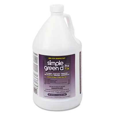 D Pro 5 One Step Disinfectant, 1gal Bottle, Sold as 2 Each