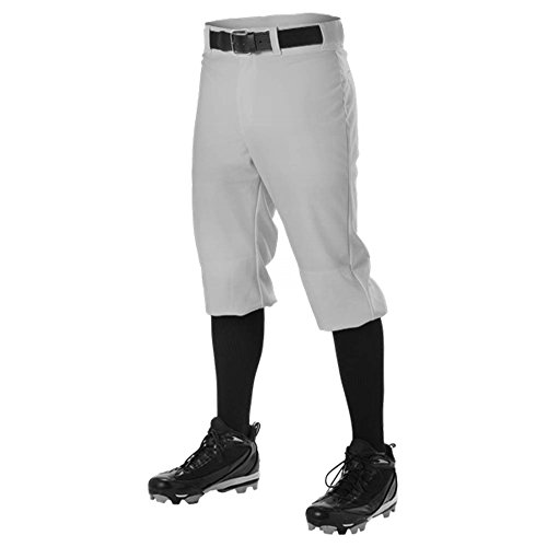 DON ALLESON 605PKN BASEBALL KNICKER adult mens PANTS A Athletic Heather L