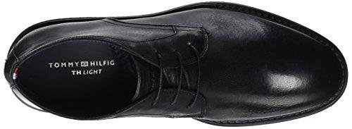 Tommy Hilfiger A2285ustin 2a, Stivali Desert Boots Uomo nero