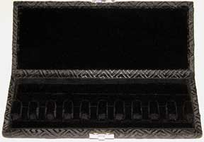 10-Reed Bassoon Reed Case Silk (Black Egyptian)