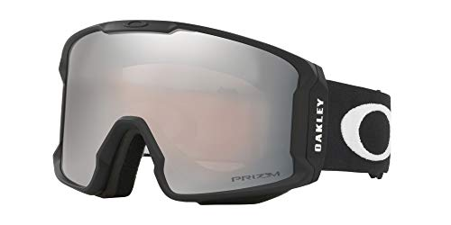 Oakley Line Miner Snow Goggle, Matte Black, Medium, Prizm Black Iridium Lens (Best Goggles For Snowboarding 2019)