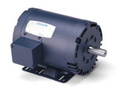 - Leeson Electric, 140472.00, 10HP, 1765RPM, 3PH, 208V;230V;460V, 215T Frame, Standard Flange, Foot Mount, Open, General Purpose Motor