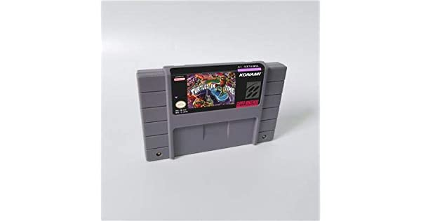Amazon.com: Game card Teenage Mutant Ninja Turtles IV Turtle ...