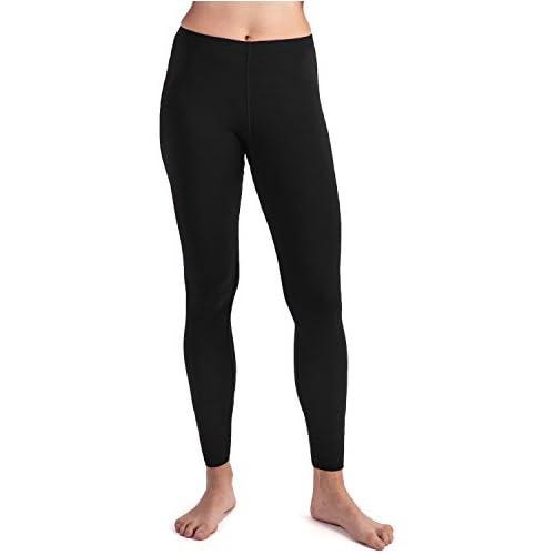MERIWOOL Women's Merino Wool Midweight Baselayer Bottom - Black/XS