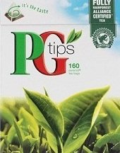 PG Tips Black Tea, Pyramid Tea Bags, 160Count Boxes (Pack of 4) ()