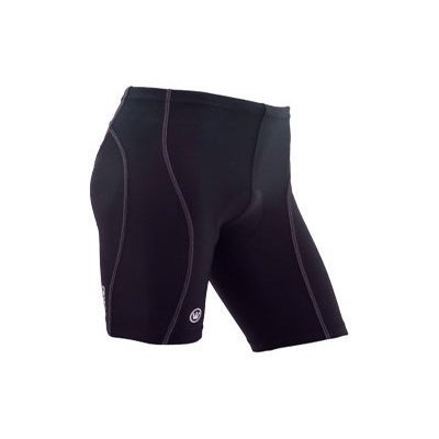 CANARI Womens Triathlon Shorts, Small, Black