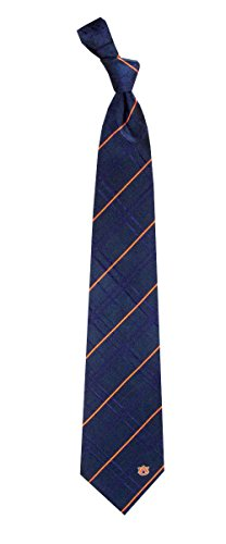 Auburn Tigers NCAA Oxford Men's Woven Silk Tie