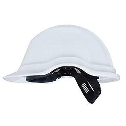 bjornklader equilibrio ca pe casco de seguridad con visera CE, blanco