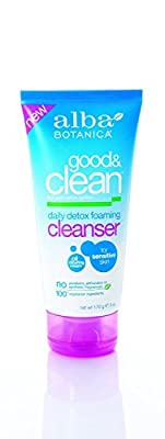 Alba Botanica Good and Clean Daily Detox Foaming Cleanser