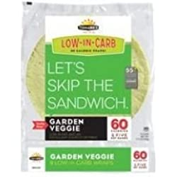 TUMAROS Garden Veggie, 8 Count (Pack of 6)