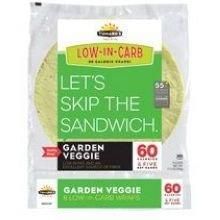 TUMAROS Garden Veggie, 8 Count (Pack of 6)