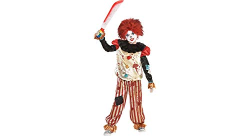 Bloody Clown Accessory Kit for Children, Standard, 2 Pieces, by Amscan -