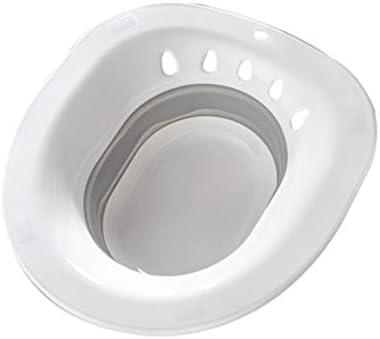 Healifty 女性折り畳み式トイレシッツバストイレ会陰式バストイレヒップバスタブ洗面台洗面台洗面台妊婦女性用大人(ランダムカラー)