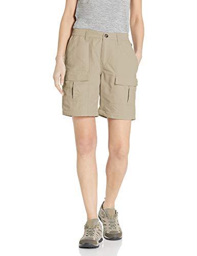 Solstice Apparel Women's Insect Repellent Convertible Pants, Khaki, Medium