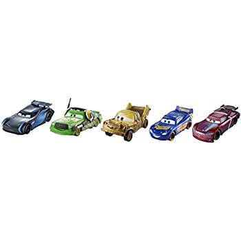 Amazon Com Disney Pixar Cars 3 Die Cast Collection 5 Pack Toys