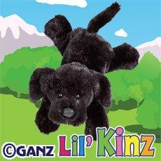 Webkinz Lil' Kinz Black Lab Plush