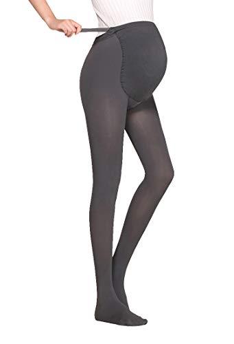 a1376a1d0819f KOOYOL Women's Maternity Pantyhose Opaque Tights Leggings Pants Winter 180D