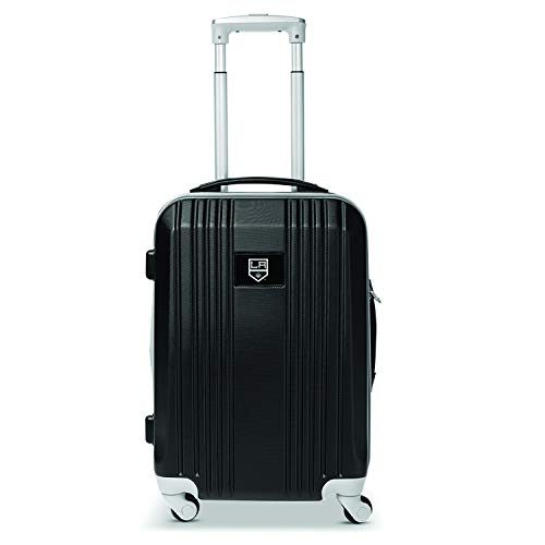 Denco NHL Los Angeles Kings Round-Tripper Two-Tone Hardcase Luggage Spinner