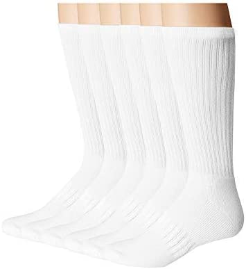 Vedouci Socks Breathable Sports Socks Moisture Wicking Cotton Thick Socks,6 Pack/…