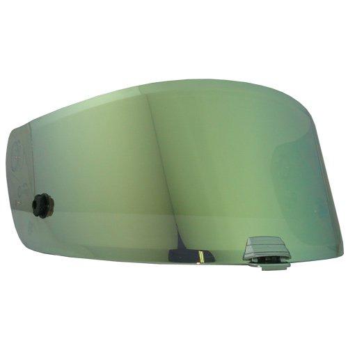 (HJC HJ-20 Shield / Visor Gold,Silver,Blue,Smoke,Clear,Pinlock Ready, For R-PHA 10, RSP 10 helmets, Bike Racing Motorcycle Helmet Accessories - Made in Korea (Gold) )