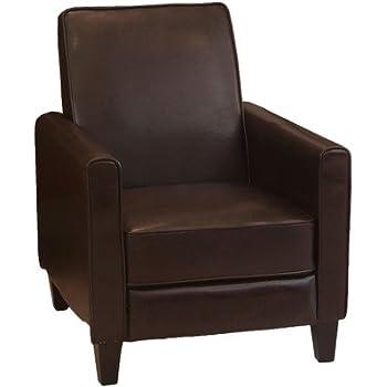 Amazon Com Best Selling Davis Recliner Club Chair Grey