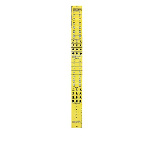1 TU58 Thread Measuring Gauge, Vertical Bolt and Nut Gauge / Thread Checker (Inch & Metric)