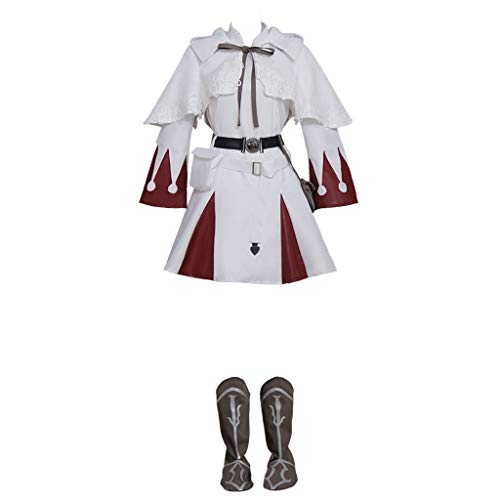 - CosplayDiy Women's Dress for Final Fantasy XIV White Mage Cosplay XXXL