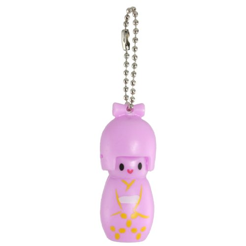 UPC 608641693997, Pink Plastic Japanese Kokeshi Doll Style Nail File Clipper Trimmer
