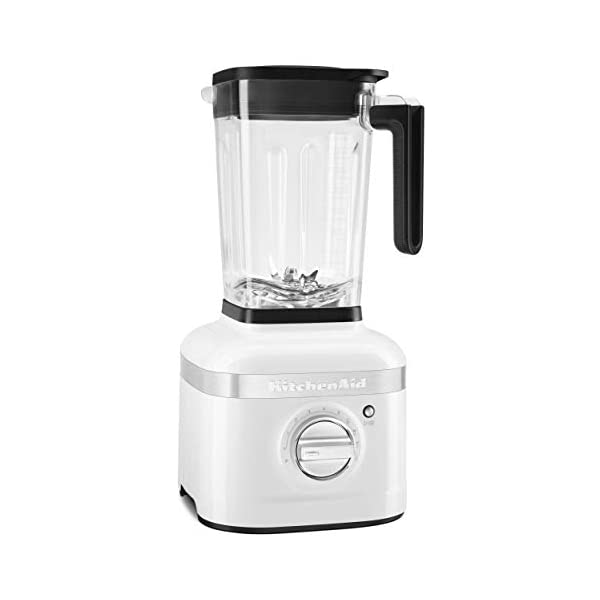 KitchenAid KSB4027WH K400 Countertop Blender, 56 Ounce, White 1