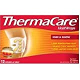 Pfizer Thermacare Knee and Elbow Thermal Wrap - 2 per pack -- 12 packs per case.