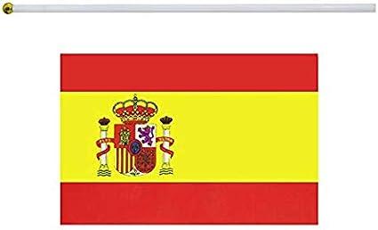 Frmarche - Bandera de España pequeña (20 Unidades, 14 x 21 cm ...