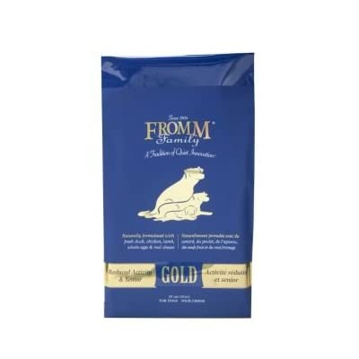 Fromm Family Foods 727543 Gold Nutritionals Senior 15 Lb Dry Dog Food (1 Pack), One Size