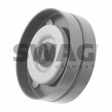 SWAG V-Ribbed Belt Deflection Guide Pulley Fits OPEL Astra VAUXHALL 6854427 -  40926937
