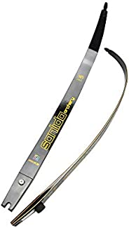 "ZSHJGJR 66"" 68"" 70"" Archery Recurve Bow Limbs ILF Device ILF Bow Limbs 20-44lbs Compatible for"