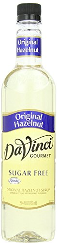 - DaVinci Gourmet Coffee Syrup, Sugar-Free Hazelnut, 25.4 Ounce Bottle (Pack of 4)