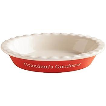 Amazon Com Personalized Pie Plate Rowe Pottery Pie