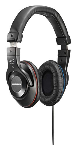 JVC Victor Studio Monitor Headphones | HA-MX10-B (Japanese Import)