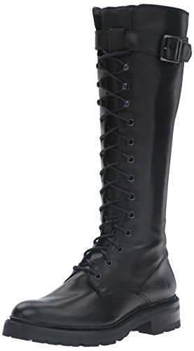 Frye Women's Julie Lace Tall Combat Boot Black free shipping classic clearance for sale clearance many kinds of latest online quality from china wholesale 6OitUkt0
