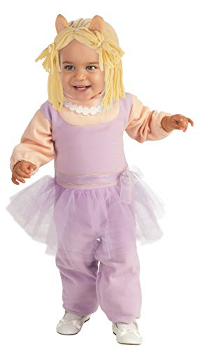 Muppets Ez-On Miss Piggy Romper, Pink, Toddler Costume -
