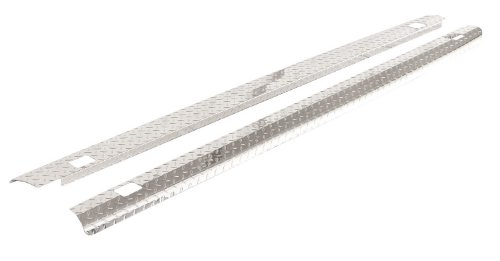 - ICI SPBR46TB Treadbright Aluminum Truck Bed Rail Cap with Holes