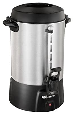 Proctor Silex 45060 60 Cup Brushed Aluminum Coffee Urn