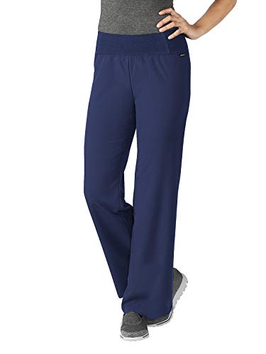 Jockey 2358 Women's Perfected Yoga Pant - Comfort Guaranteed New Navy - New Scrubs Large