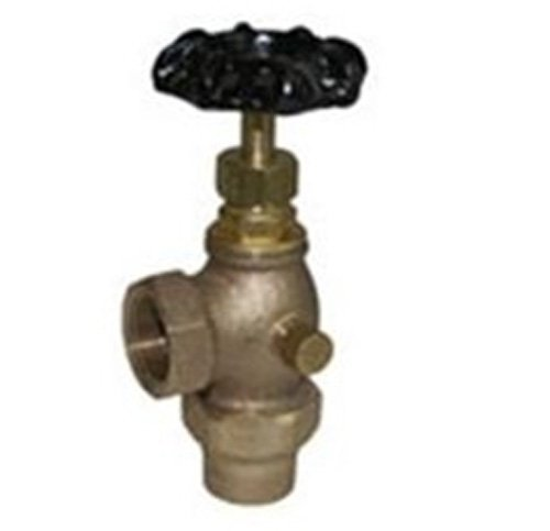 Legend Valve 111-113NL No Lead T-442 Bronze Angle Meter Valve with Waste, 3/4