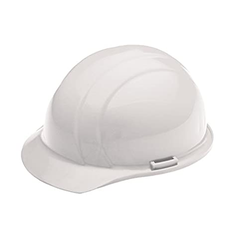 ERB 19761 Americana Cap Style Hard Hat with Slide Lock, White
