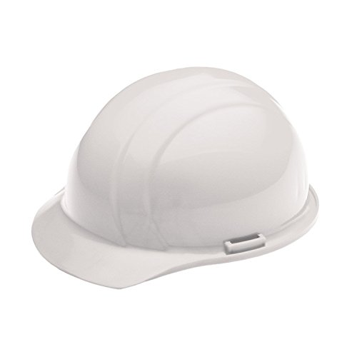ERB 19761 Americana Cap Style Hard Hat with Slide Lock, White by ERB