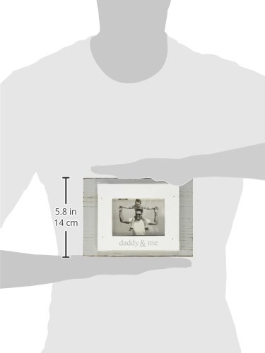 Mud Pie Daddy and Me Frame, White/Gray by Mud Pie (Image #2)